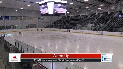Pre-Novice Women Short Program Part 3 - 2021 Skate Canada: Alberta-NWT/Nunavut Sectional Championships