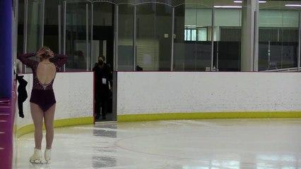 Junior Women Short Program - 2021 Skate Canada: Alberta-NWT/Nunavut Sectional Championships (Part One)