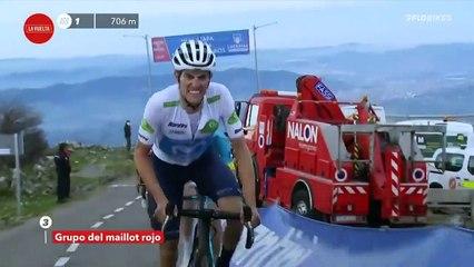 Hugh Carthy Conquers The Angliru | Vuelta a España Stage 12
