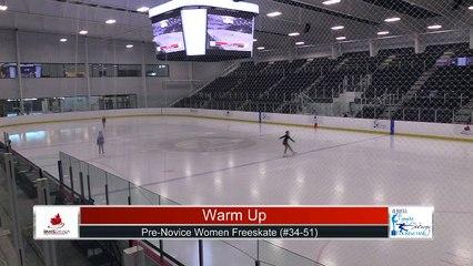 Pre-Novice Women Free Program Part 3 - 2021 Skate Canada: Alberta-NWT/Nunavut Sectional Championships