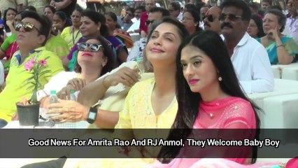 Good News! Amrita Rao Blessed With Baby Boy