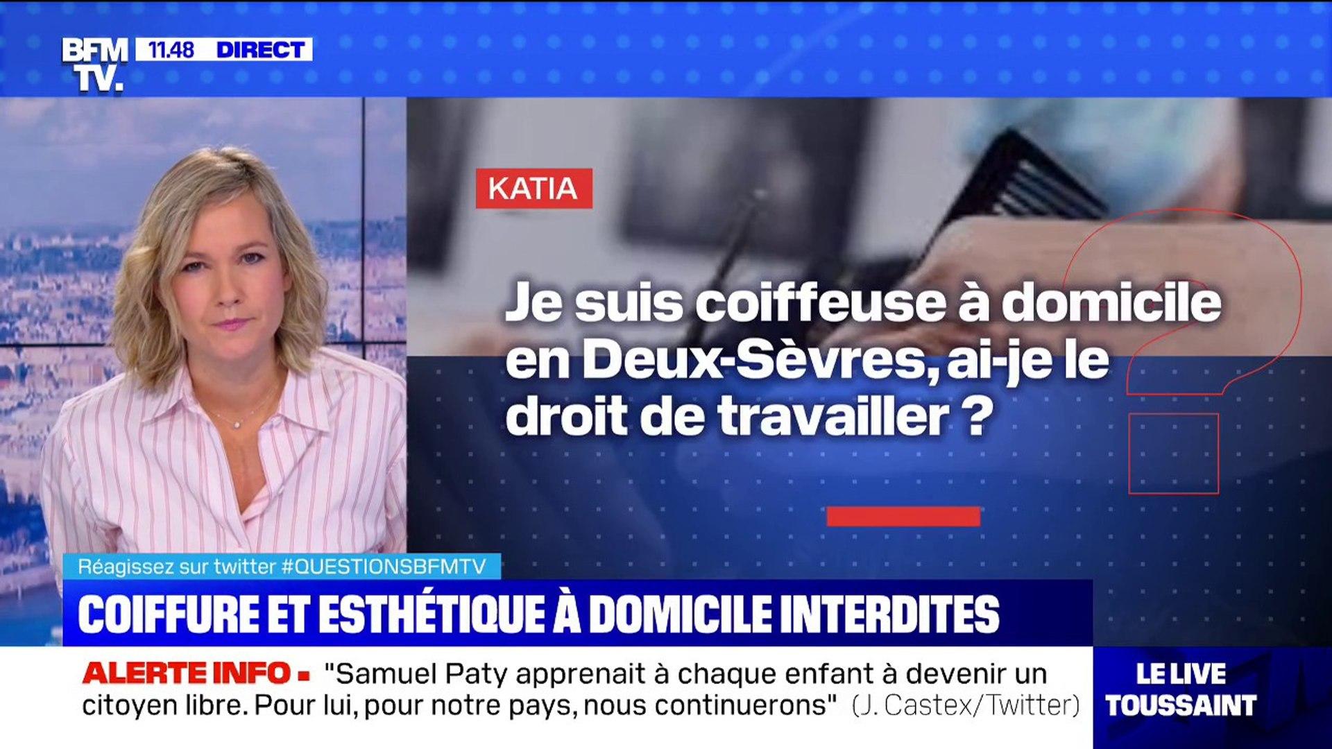 Je suis coiffeuse à domicile en Deux-Sèvres, ai-je le droit de travailler?  BFMTV répond à vos questions