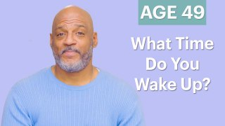 Men Ages 5-75: What Time Do You Wake Up?