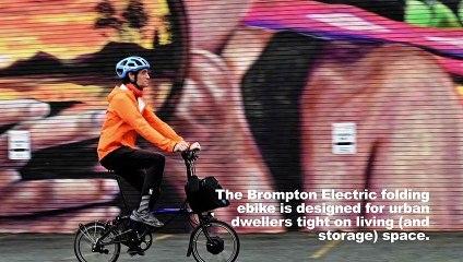 Brompton Electric Folding Ebike Review