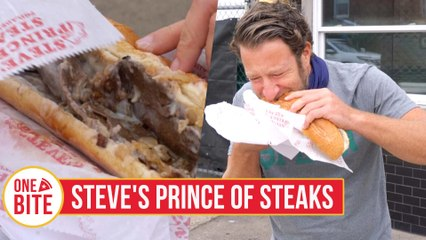 Barstool Cheesesteak Review - Steve's Prince of Steaks (Philadelphia, PA)