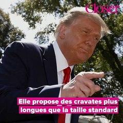 Pourquoi Donald Trump porte-t-il des cravates trop longues ?