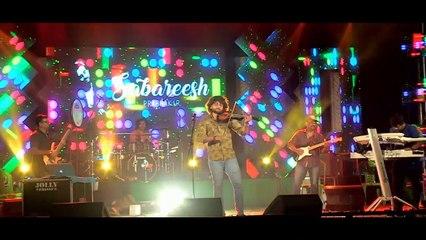Sabareesh Prabhaker Live performance   St. Stanislaus Forane Church, Mala Thirunal