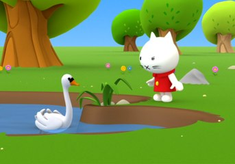 Musti - Sun and shadow - Funny cartoons for kids