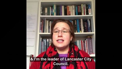 A message from Councillor Dr Erica Lewis