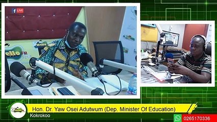Fmr Prez Mahama Doesn't Understand Double Track - Dr.Yaw Adutwum