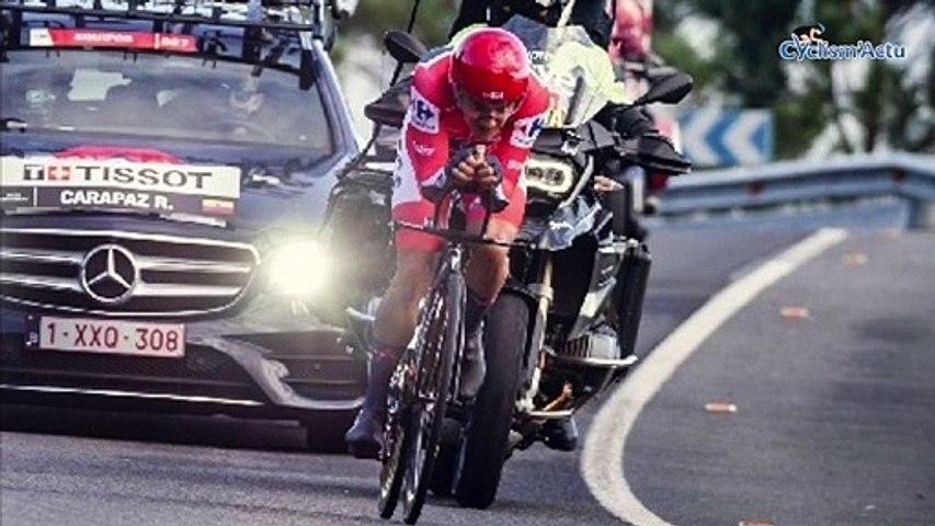 """Tour d'Espagne 2020 - Richard Carapaz : """"Muy feliz por el resultado"""""""