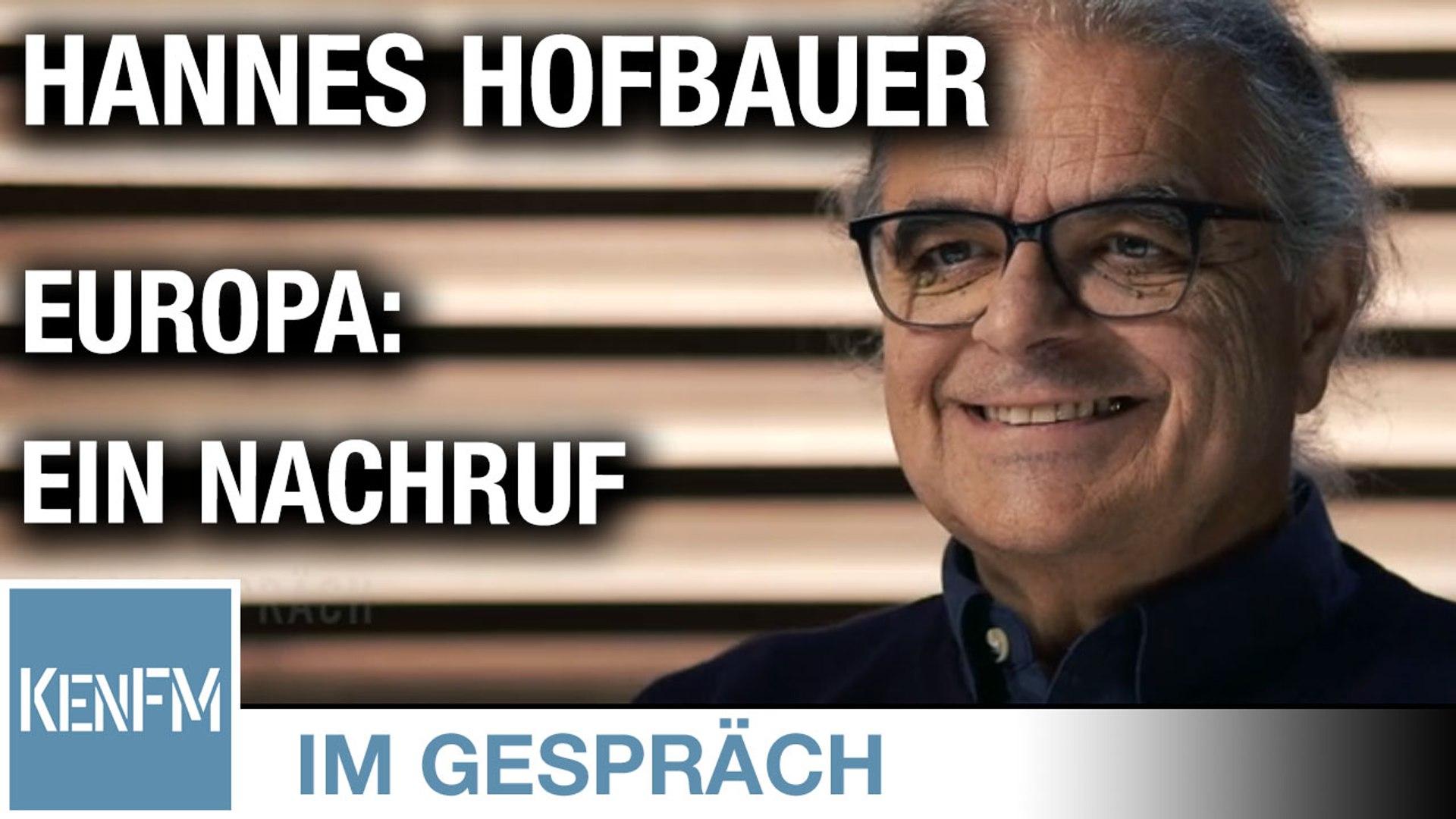 """Im Gespräch: Hannes Hofbauer (""""Europa: Ein Nachruf"""")"""