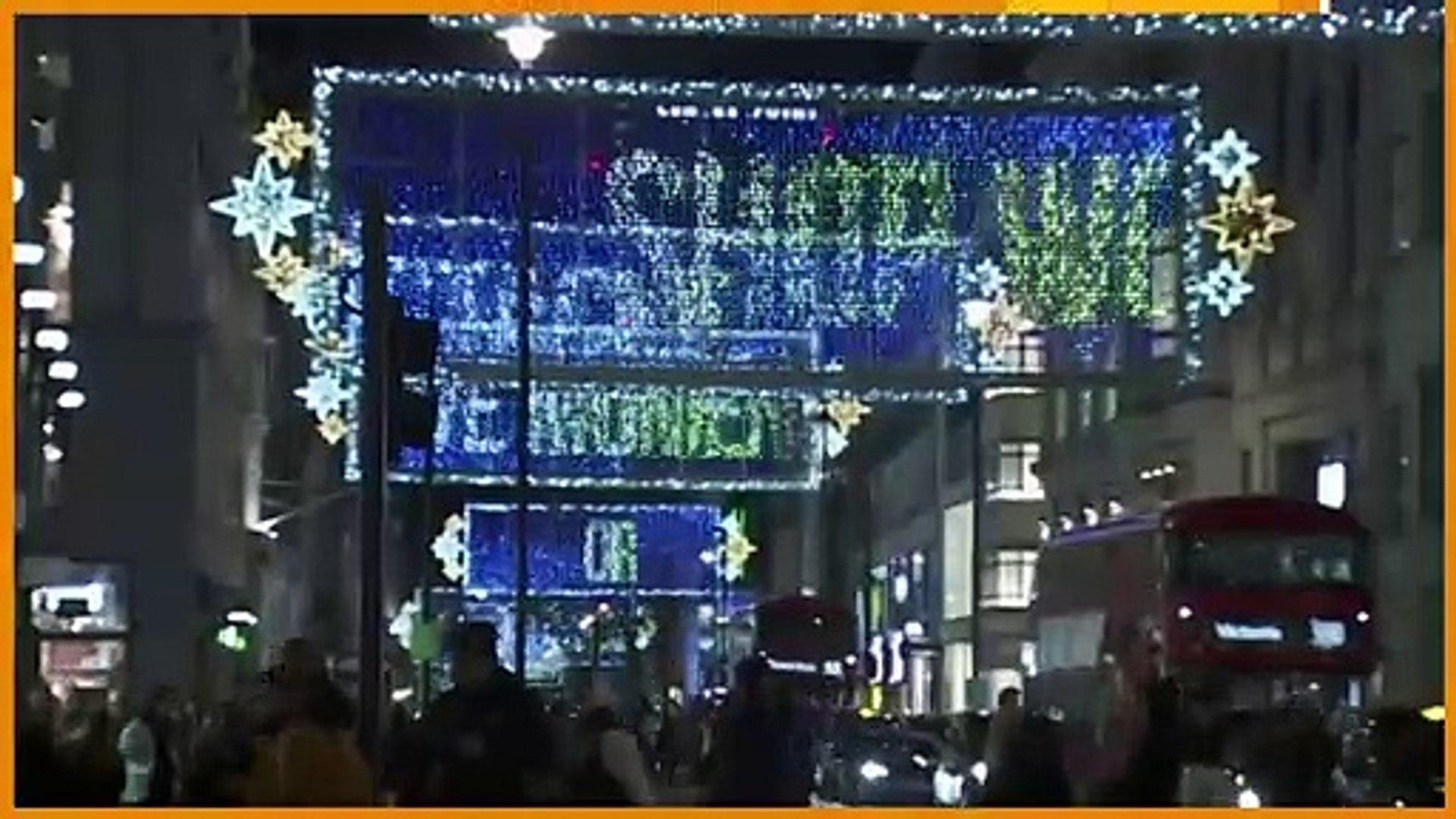 London Christmas lights celebrate 2020 heroes