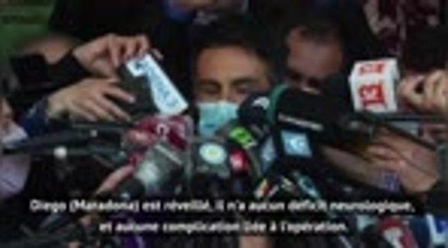 """Argentine - Luque : """"La guérison de Maradona nous a surpris"""""""