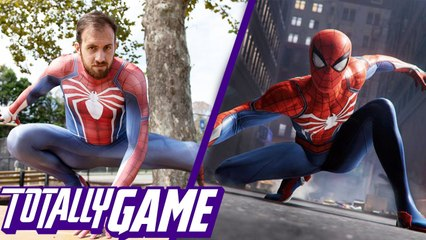 I'm The Real Life PS4 Spider-Man - TOTALLY GAME