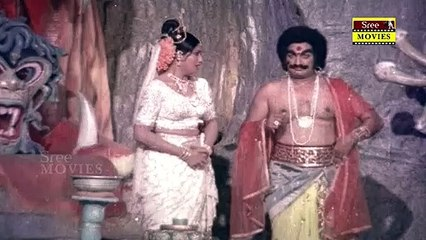 Bala Nagamma | Movie Scene 12 | K. Shankar |Sarath Babu | Sridevi | K. R. Vijaya | Vijayashanti