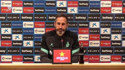 Rueda de prensa de Vicente Moreno previa al partido contra el Lugo (5/11(20)