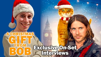 A Christmas Gift From Bob: Exclusive On-Set Interviews with James Bowen and more