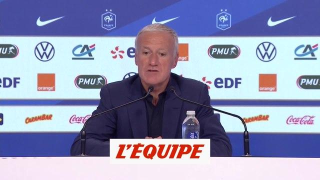 Deschamps : «Je ne me mêle pas de ce qui se passe dans les clubs» - Foot - Bleus