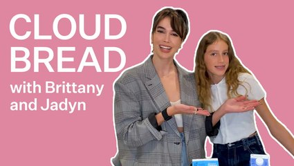 Brittany Xavier And Her Daughter Attempt Viral Cloud Bread Recipe