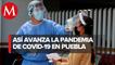 Llega Puebla a 38 mil 18 casos positivos de covid
