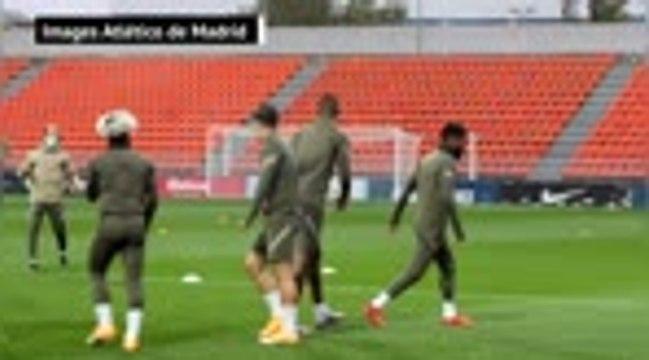 Atlético - Le premier entraînement de Kondogbia avec les Colchoneros