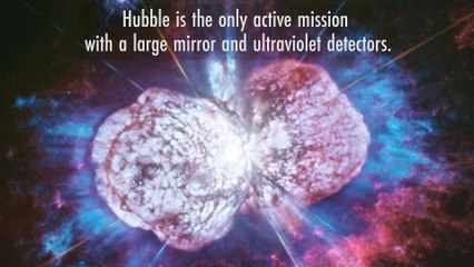 Video: Extraordinary ULLYSES Program - Hubble Launches Large Ultraviolet-Light Survey of Nearby Stars