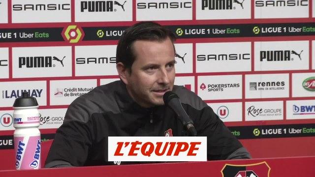 Stéphan : « Un dernier coup de collier » - Foot - L1 - Rennes