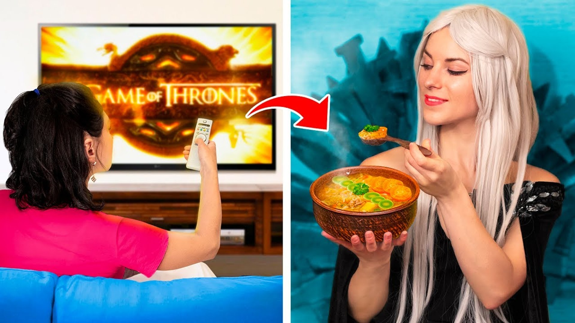 Food From TV Shows   Remaking the Best Food From Movies and TV