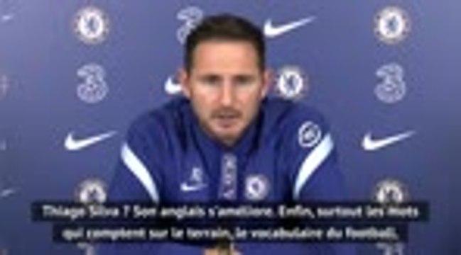 "Chelsea - Lampard : ""Thiago Silva ? Son anglais s'améliore"""