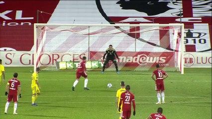 Résumé ACA-Pau FC (4-1) J18