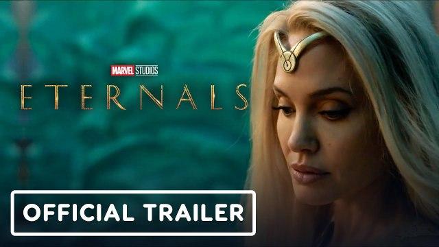 Marvel Studios' Eternals - Official Teaser Trailer (2021) Angelina Jolie, Gemma Chan, Richard Madden