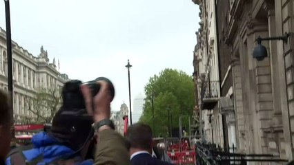Dominic Cummings arrives in Westminster