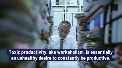 Tips to Save Yourself From Toxic Productivity