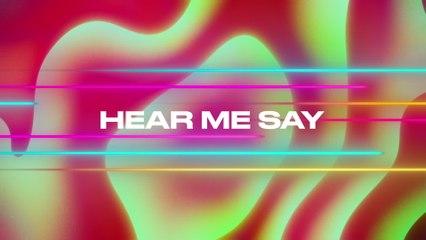 Jonas Blue - Hear Me Say