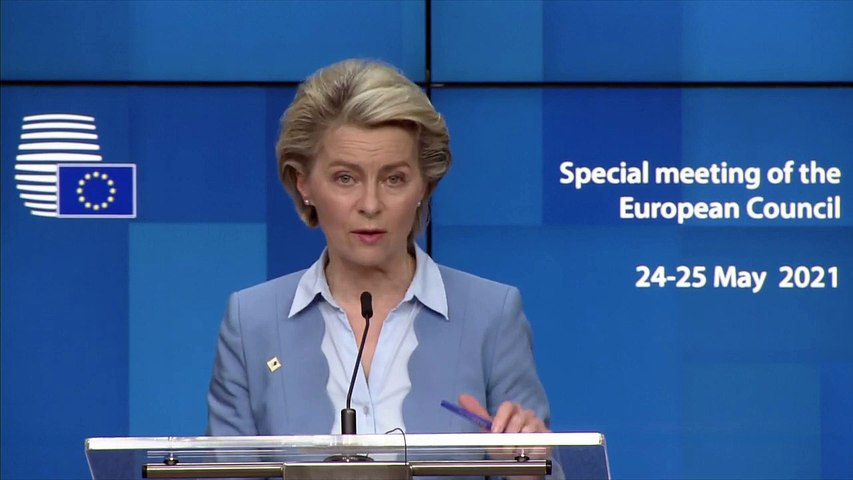 Ursula von der Leyen: We have confidence that we will be able to safely reopen our societies