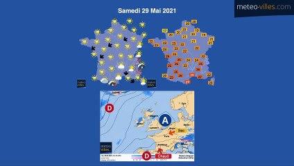 bulletin meteo du mercredi 26 mai 2021