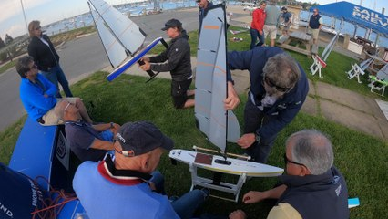 A Professional Sailor's Tips on Setting up and Tuning a DragonFlite95 RC Sailboat