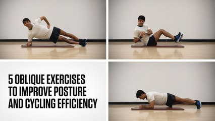 5 Oblique Exercises to Improve Posture and Cycling Efficiency