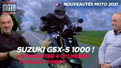 Suzuki GSX-S 1000 - Essai Moto Magazine