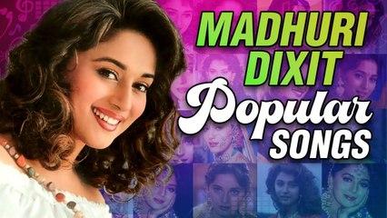 Madhuri Dixit Popular Songs   Madhuri Dixit Hits   Birthday Special   Hum Aapke Hain Koun   Jukebox