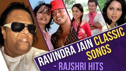 Ravindra Jain Classic Songs   Ravindra Jain Hits   Ankhiyon Ke Jharokhon Se   Hemlata   Rajshri Hits