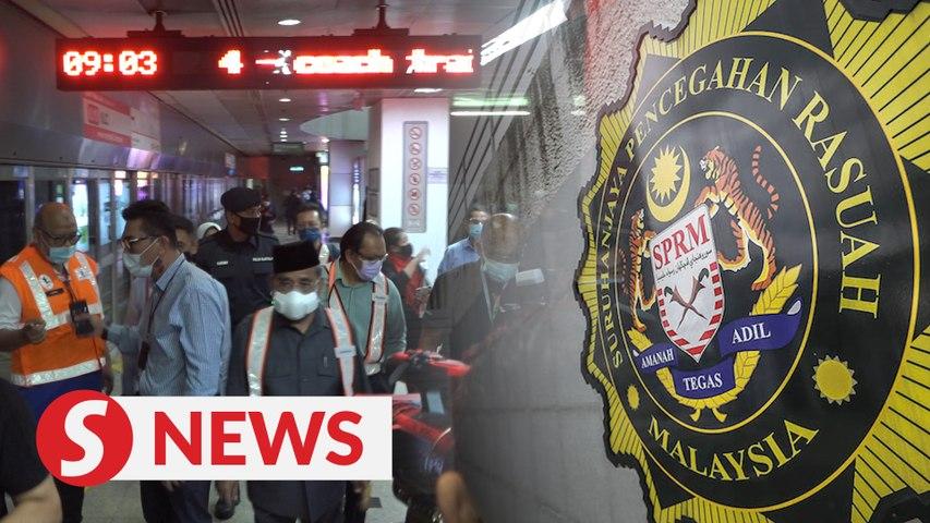 Tajuddin questioned by MACC