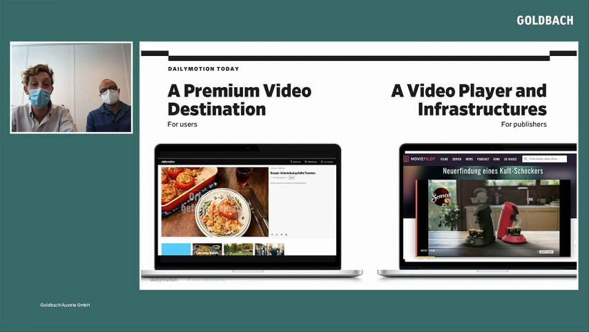 Goldbach Wrap Up    Thema Video Advertising presented by dailymotion