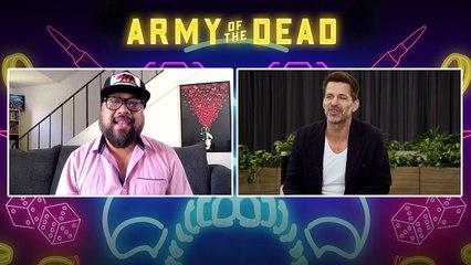 Zack Snyder Interview Army of the Dead