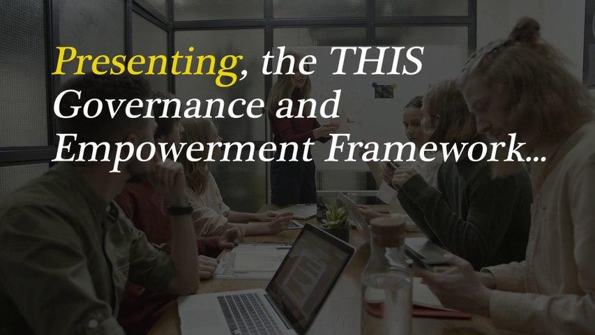 Torry Harris Integration Governance and Empowerment Framework