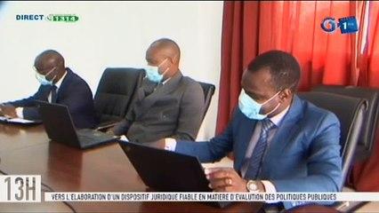 RTG - Séance de travail entre le ministre de la promotion de la bonne gouvernance et une délégation du CAESG