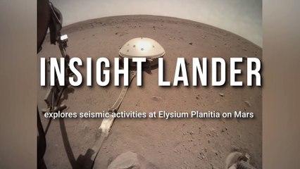 NASA's InSight Mars Lander explores Elysium Planitia for seismic activities