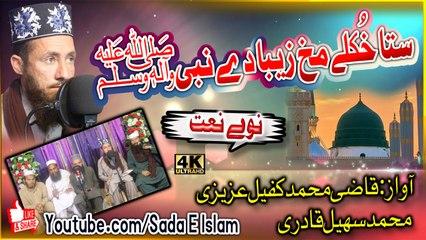 Pashto new Hd naat - Sta khkule makh zeba de nabi S A W by Qazi Muhammad qafeel , Muhammad Suhail