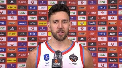 Post-game Interview: Vasilije Micic, Anadolu Efes Istanbul